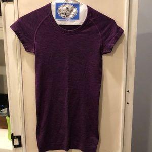 Lululemon Purple Swiftly Tech Short Sleeve Top 2